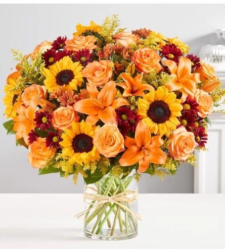 Fall Sunflowers Bouquet