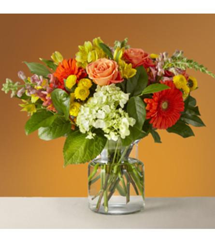Glowing Autumn Bouquet