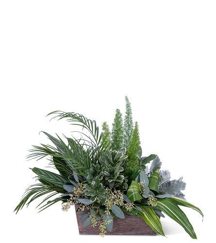 Verdant Love Flower Arrangement