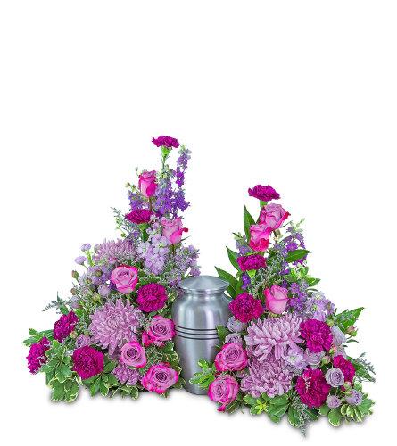 Gracefully Majestic Celebration of Life Surround with Flowers