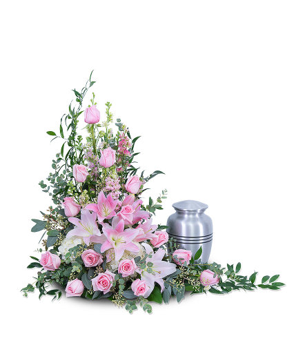 Forever Adored Tribute with Flowers