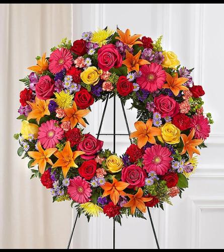 Colorful Memories Wreath