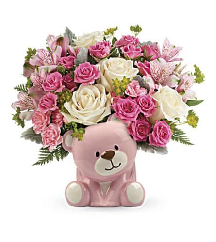Pink Bear Bouquet