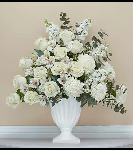 White Elegant Basket