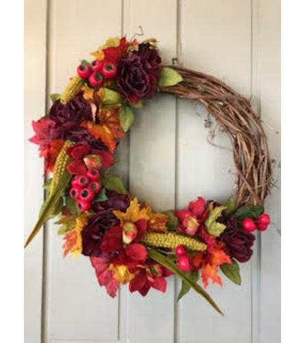Its Fall Yall Silk Wreath