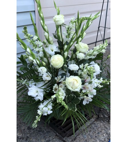 Sympathy Flowers for the Home Artists Design