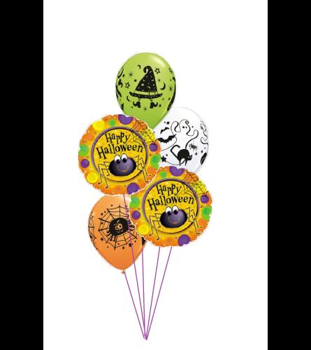 Halloween Spider Classic Balloon Bouquet