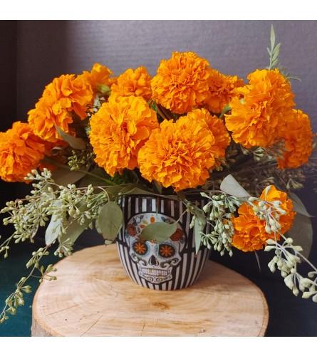 Celebration of Life Marigolds