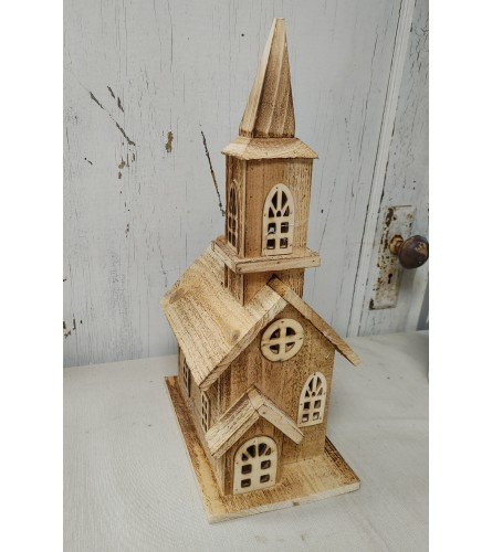 Rustic Wooden Church