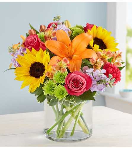 Floral Embrace  1800 flowers