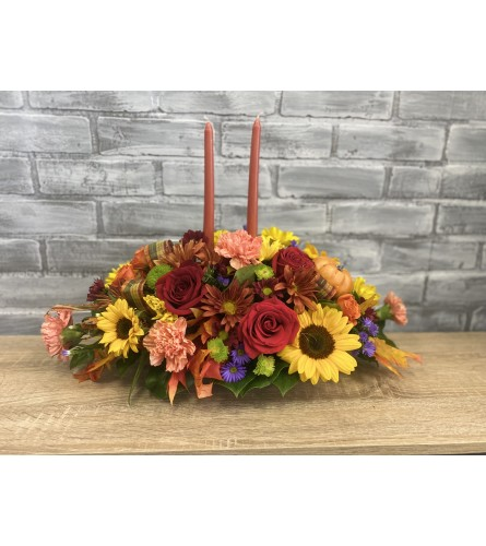 Giving Thanks Fall Centerpiece