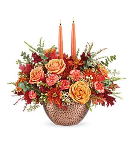Copper Autumn Centerpiece