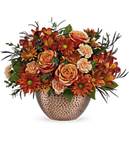 Autumn Copper Beauty Arrangement