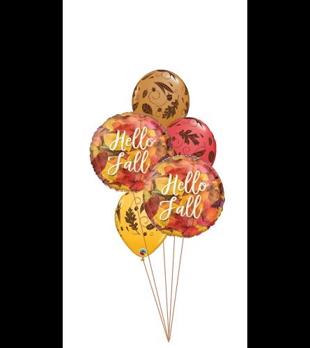 Hello Fall Classic Balloon Bouquet