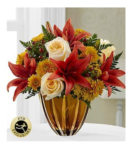 GOLD GIVING THANKS BOUQUET