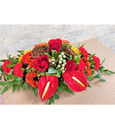 Red Thanksgiving by O'Flowers