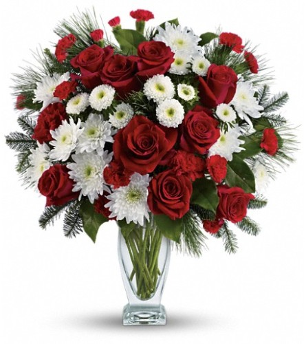 Teleflora's Winter Kisses Bouquet