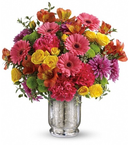 Teleflora's Pleased As Punch Bouquet