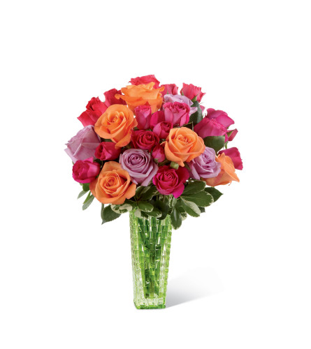 The FTD® Sun's Sweetness™ Rose Bouquet