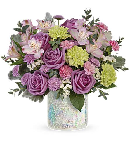 Teleflora's Irresistible Iridescence Bouquet
