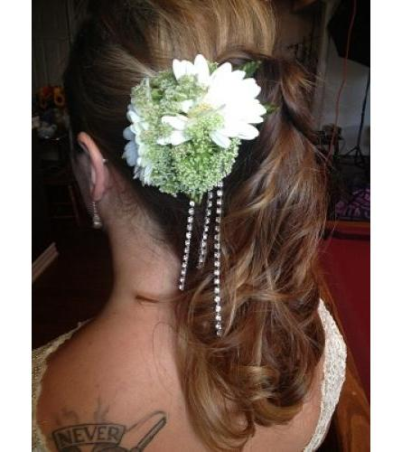 Gerbera Daisy Hair Comb