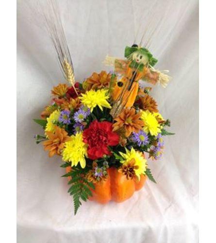 Harvest Pumpkin Centerpiece