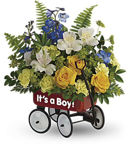 Teleflora's Sweet Little Wagon Bouquet