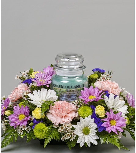 Medium Cheerful Giver Centerpiece