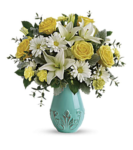 Teleflora's Aqua Dream Bouquet