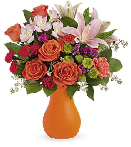 Teleflora's Happy Go Citrus Bouquet