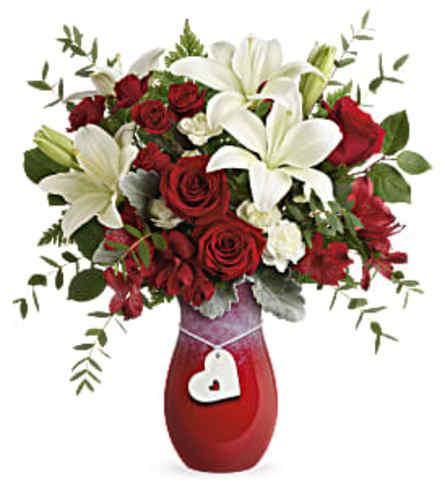 Teleflora's Charming Heart Bouquet 2021