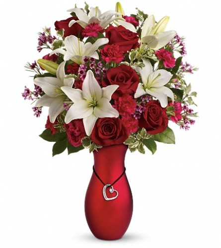 Heartstrings Bouquet by Teleflora