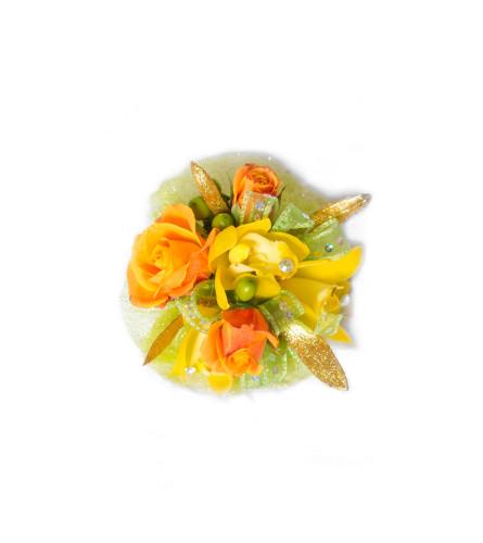 Citrus Splash Corsage
