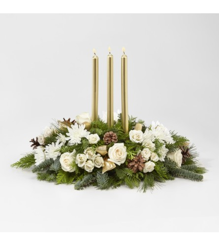Frosted Centerpiece by FTD