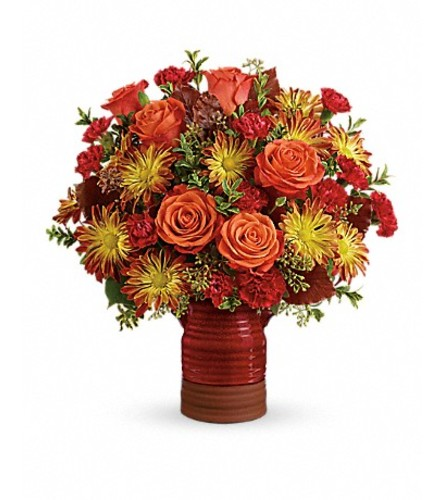 Teleflora's Heirloom Crock Bouquet