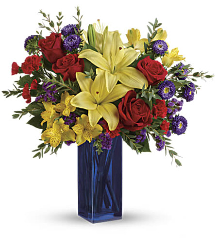 Teleflora's Flying Colors Bouquet
