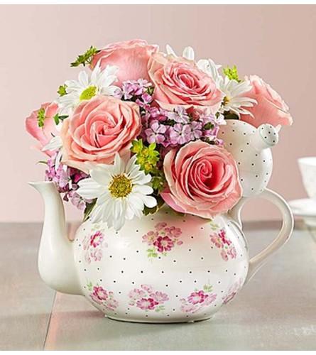 Teapot Full of Blooms™
