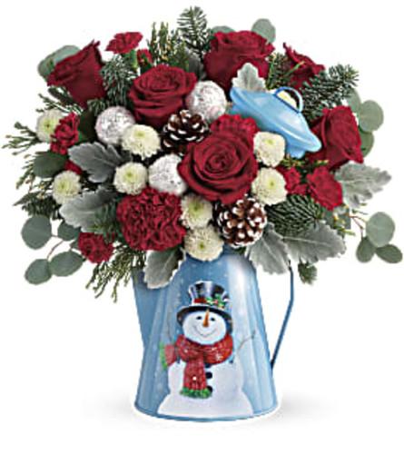 Teleflora's Frosty Enchantment Bouquet