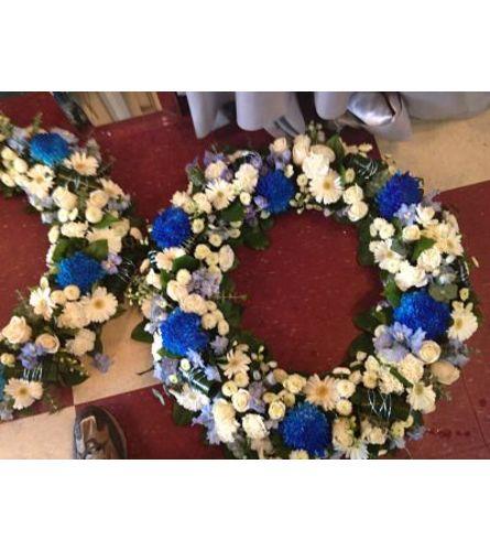 Sleep in peace wreath