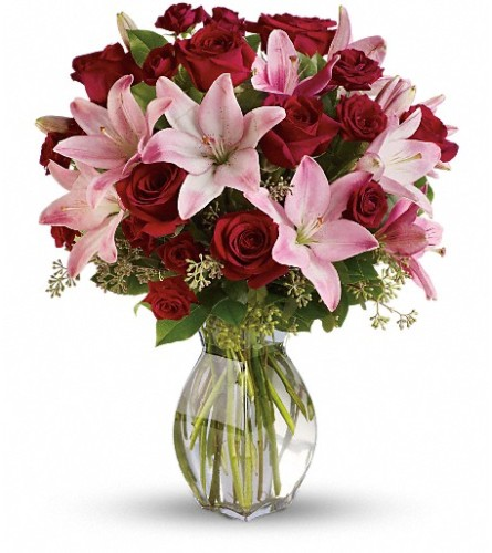 Lavish Love Bouquet with Long Stemmed Red Roses