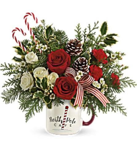 Send a Hug Cozy Holiday Mug by Teleflora 2020