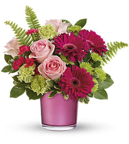 Teleflora's Regal Pink Ruby Bouquet