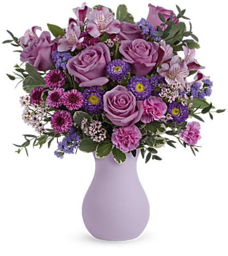 Teleflora's Prettiest Purple Bouquet