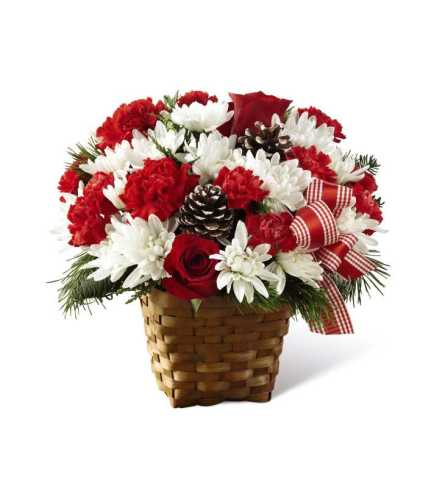 The FTD® Holiday Happiness™ Basket