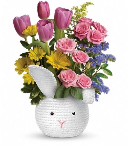Teleflora's Cuddle Bunny Bouquet