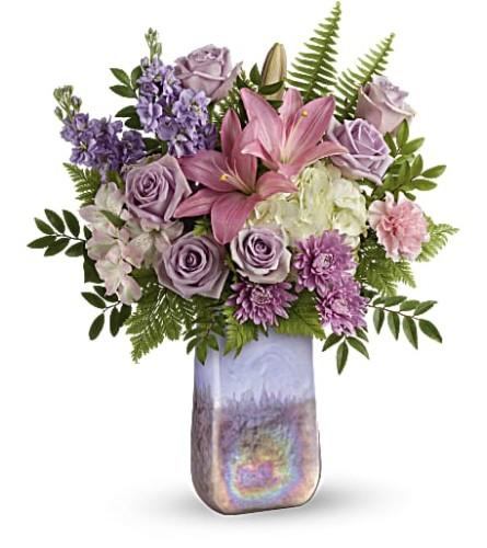 Teleflora's Glass Grandeur Bouquet
