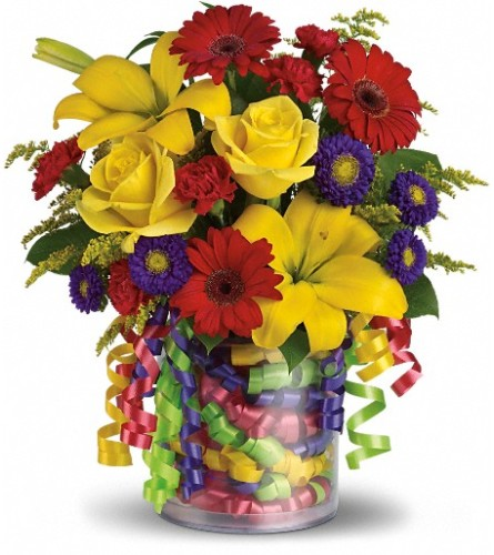 Teleflora's Birthday Ribbon Bouquet