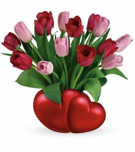 Teleflora's Two Sweet Bouquet