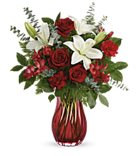 Teleflora's Love Conquers All Bouquet 2021