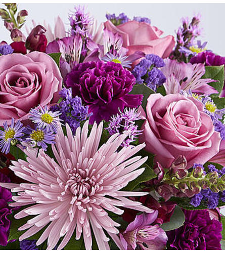 Florist's Choice Purple Mixed Bouquet